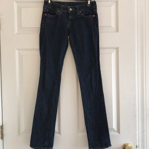 🆕🍁❄️LUCKY BRAND Lola Straight Jeans 00/24